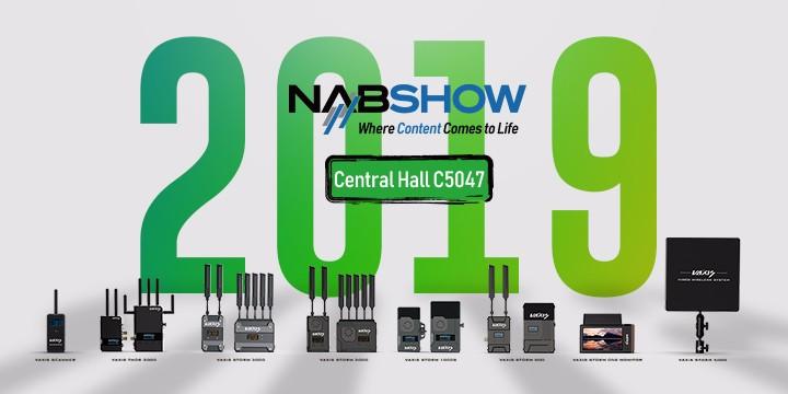 2019美国广播电视展NAB Show,威固无线图传新品看点汇总